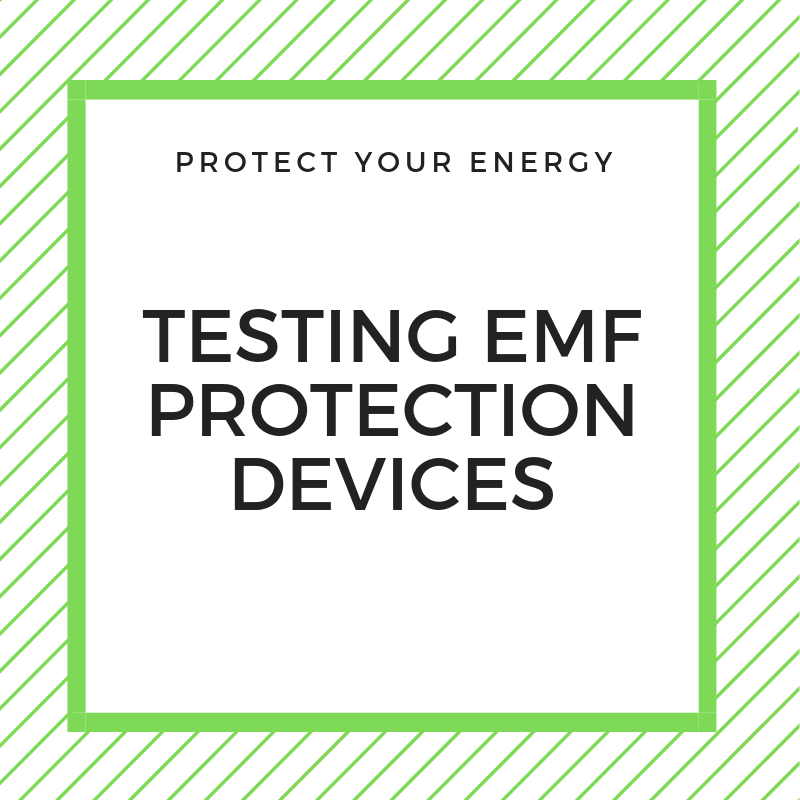 testing EMF protection devices