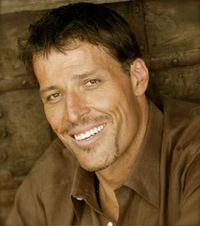 Anthony Robbins, author of 'Awaken the Giant Within'